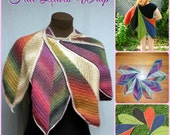 Fall Leaves Wrap ~ CGOA Design Competition Winner ~ PATTERN ONLY