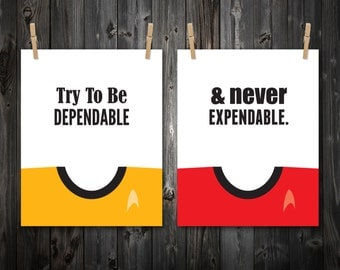 Try To Be Dependable and Never Expendable, Inspirational Quote, Quote Print, Quote Art, Quote Poster, Inspire, Inspirational Art