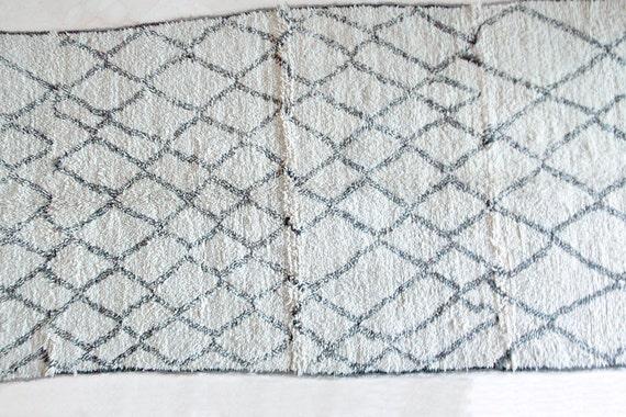 WILD BAREFOOT & FREE 14×6 Boucherouite Rug Tapis by