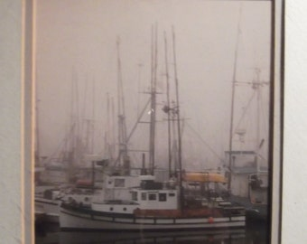 Nautical professional photo framed and matted size 12x14