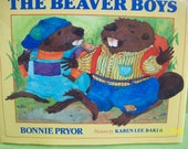 The Beaver Boys by Bonnie Pryor, Pictures by Karen Lee Baker, 1992