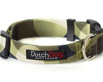 Over the Moon Fashion Dog Collar - Made From Recycled Webbing
