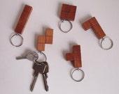Tetris key chain, S Tetrimino