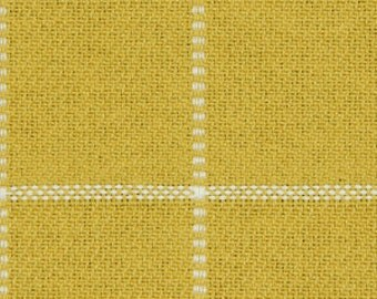Yellow Grey Abstract Upholstery Fabric Contemporary Black