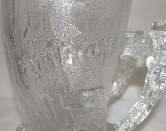 Flinestones Glassware Set of Two