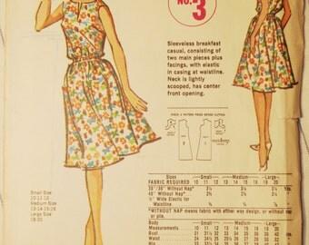 Unusual Vintage McCalls Pattern Ladies / Misses Quaker Oats Premium Dress Sz. Medium
