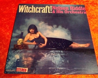 Vintage Witchcraft Vinyl Record Album Nelson Riddle and His Orchestra 1965 Pickwick 33