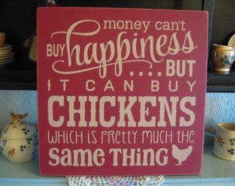 Chicken Sign,Wood Chicken Sign,Chicken Decor,Chicken Wall Decor,Kitchen Wall Decor,Primitive Wood Sign,Wood Sign,Farmhouse Wall Decor,Signs