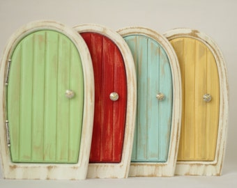 Secret garden fairy door for home and garden for Secret fairy doors by blingderella