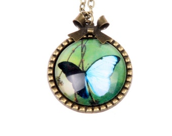 Vintage 2525C Butterfly Necklace