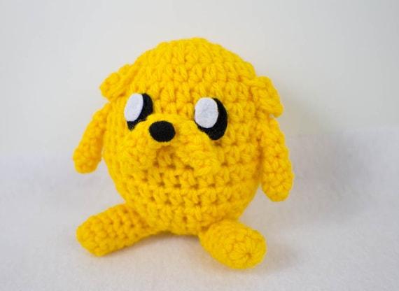 Amigurumi Jake The Dog Inspired Plush by OwlPudding on Etsy
