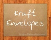 """A2 Brown Kraft Envelopes - 5.75"""" x 4.375"""" - 100% Recycled - Free shipping in USA"""