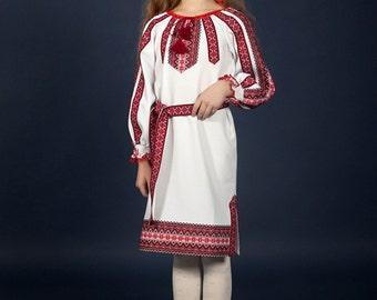 Vyshyvanka dress. Ukrainian embroidery Dress for girls. Children vyshyvanka. УКРАИНСКОЕ ВЫШИТОЕ ПЛАТЬЕ. National Ukrainian clothing
