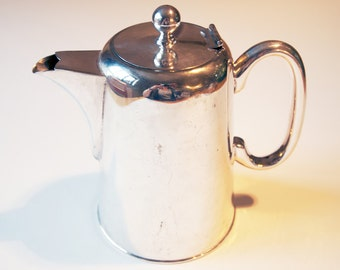 Vintage Silver Plate Coffee Pot, EPNS