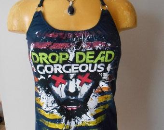 Drop Dead Gorgeous halter top Diy Hardcore