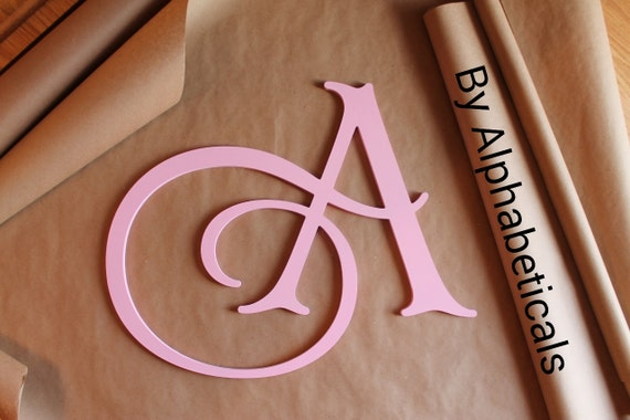 Large Decorative Wooden Letters: Wall Decor Decorative Wall Letters Wooden Letters By