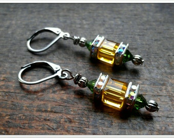 Inspired by the Green Bay Packers Earrings
