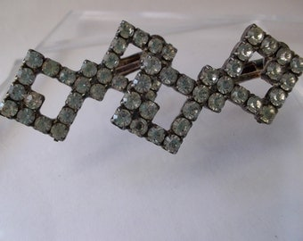 AUSTRIAN Crystals On the Ear, Clip Back Earrings/ Elegant and Timeless Fashion Jewelry/ Non Pierced Clip Earrings Unworn Condition
