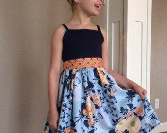 Joey Homegrown Dress,  Girl Easter dress, little girl dress, flower girl dress, summer dress, toddler dress, spring dress, joel dewberry