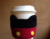 Mickey Mouse coffee cozy