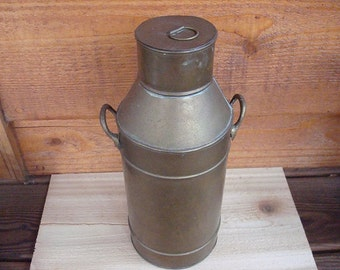 Antique Brass Fuel Or Oil Can