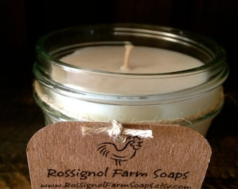 20% Off Pipe Smoke Soy Candle in 4oz Jelly Jar