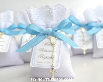 Baby boy favors etsy - Giveaways baptism ...