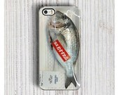 Fresh FISH IPHONE 6s CASE iPhone 6S Plus case Cool iPhone 5s case Realistic iPhone 5C cover Funny iPhone 4S case