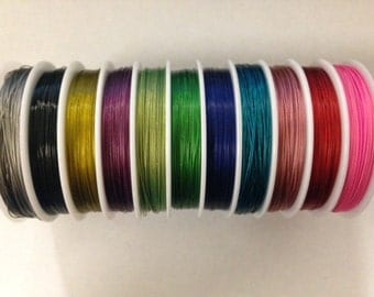 beading wire, craft wire, 0.45mm, 100meters, one full roll