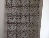 19TH Century French Wrought  Iron Archituectual Panel
