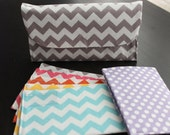 Lots of Chevron Cash Envelope Clutch for Dave Ramsey Budget