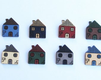 House  Push Pins or Magnets