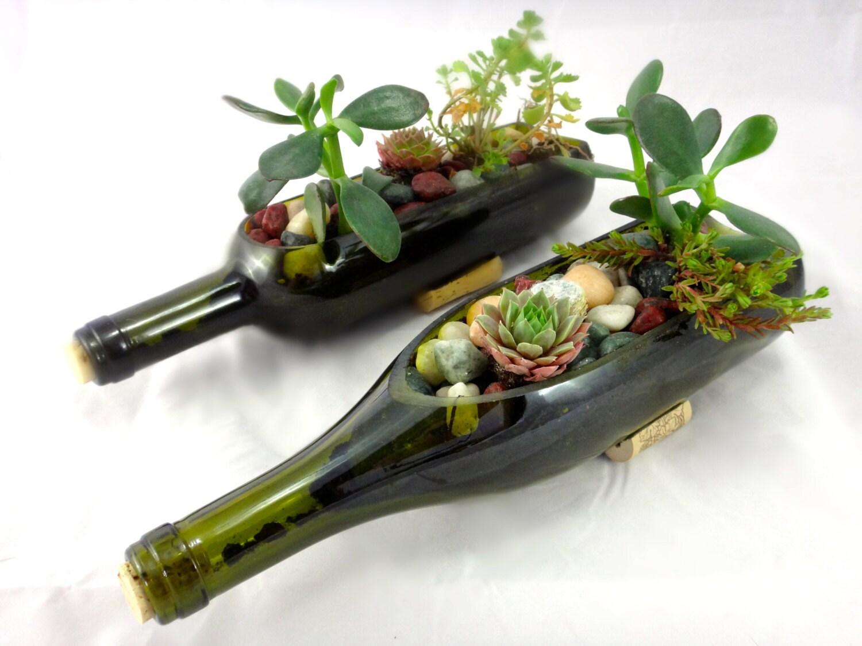 Wine bottle crafts outdoor -  Zoom
