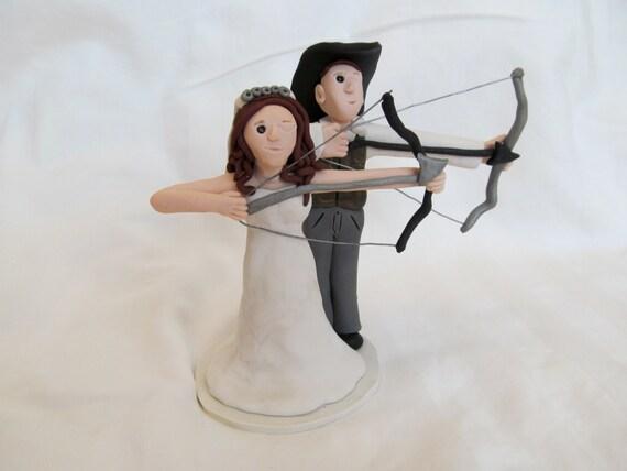 Wedding Cake Topper Archery