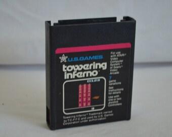 Atari 2600 Video Game: Towering Inferno
