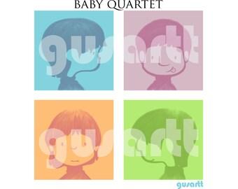baby quartet