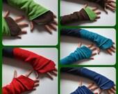 Elven / Faery Wrist Warmers, Gauntlets, Fingerless Gloves…..Festival, Boho, Psy, Steampunk, Fantasy, Gypsy, Punk