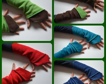 Elven / Faery Wrist Warmers, Gauntlets, Fingerless Gloves…..Festival, Boho, Psy, Steampunk, Fantasy, Gypsy, Punk