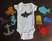 Ocean Baby Shower Activity - Ocean Themed Baby Shower - Make DIY Ocean Nursery Decoration