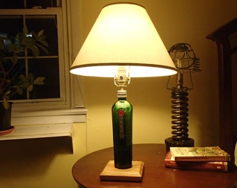Tanqueray Gin bottle lamp