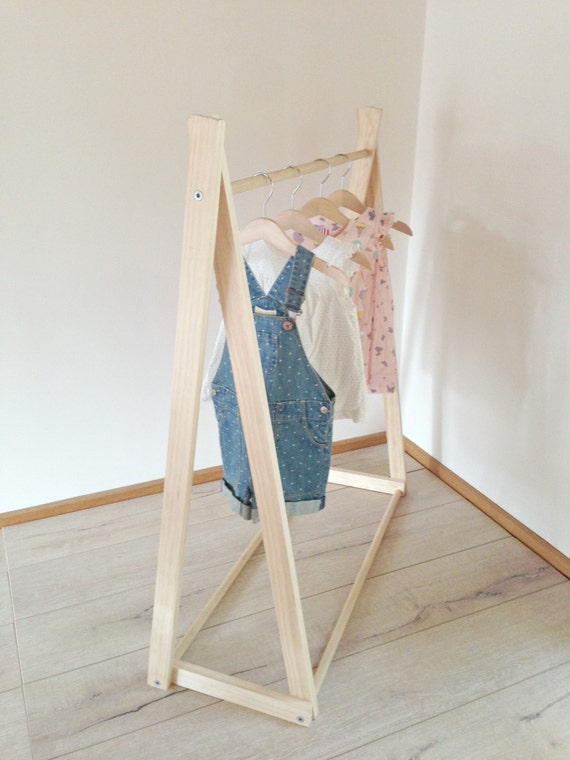 Childrens Dress up Clothes Rack Kids Clothes Rack / Dress up