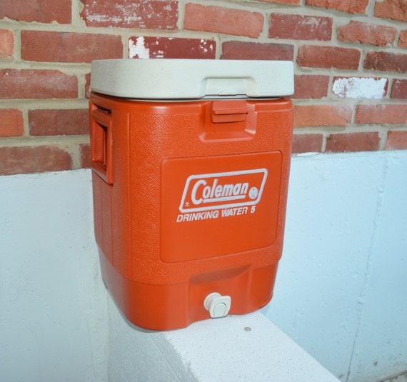 coleman 39 s 5 gal drinking water jug cooler by oldchurchstore. Black Bedroom Furniture Sets. Home Design Ideas