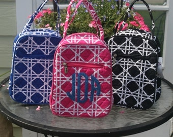 Personalized Quilted Lunch Bags