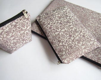 Set of sleeves for MacBook Air/Pro 13 and iPad mini, and small charger bag