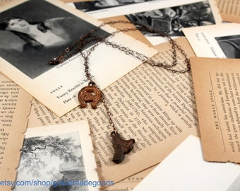 Vintage Charms Western Necklace