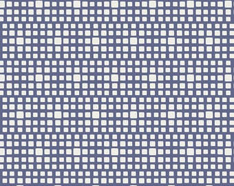 Blueberry Squared Elements by Art Gallery Fabrics