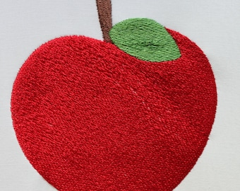 Apple  Digitized Machine Embroidery File ONLY