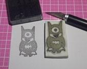 Batman Minion Rubber Stamp