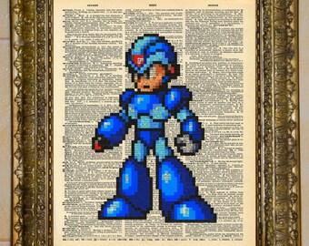 Mega Man Dictionary Art