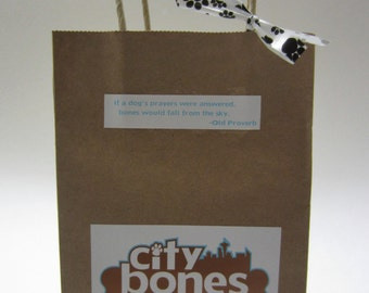 CityBones Dog Treat Variety Bag